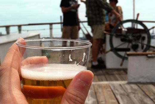 Manhattan by sail beer