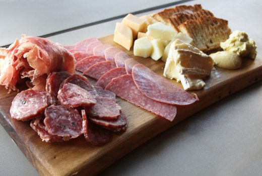 Cheese charcuterie cruise