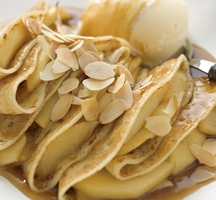 Delicious-filled-almond-crepe