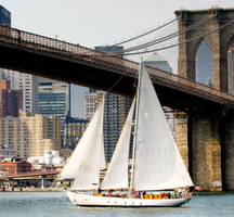 Manhattan-by-sail-boat