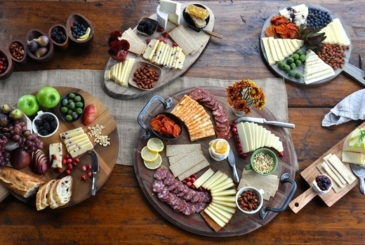 Charcuterie cheese