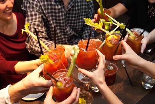 Brunch cheers bloodymary breakfestival