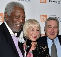 Robert de niro and morgan freeman