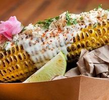 Seasoned-corn