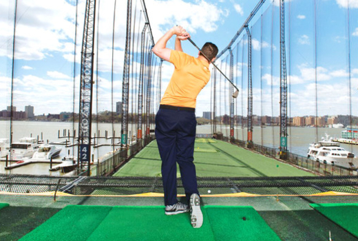Golf Club At Chelsea Piers Nyc Golf Classes Driving Range The