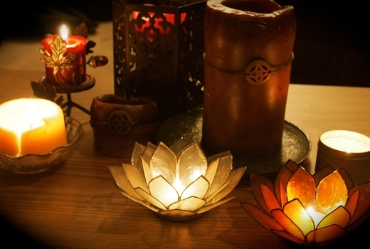 Bhakti yoga candles