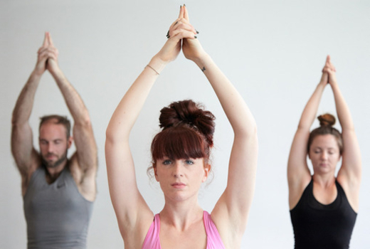 Bhakti yoga poses
