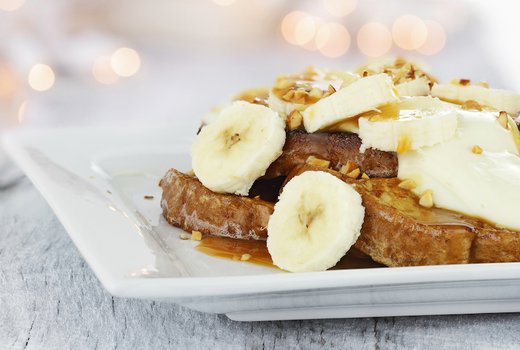 La palapa french toast bananas