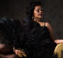 Hwf burlesque lady
