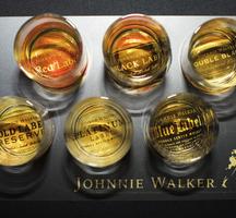 Johnnie tasting