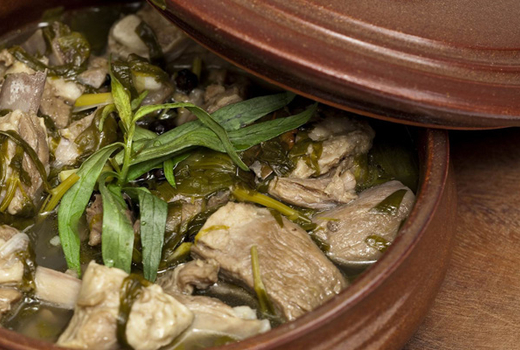 Veal chakapuli