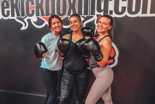 Ilovekickboxing friends fun