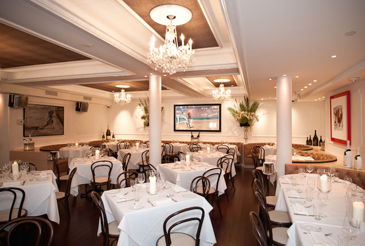 Bagatelle main dining room