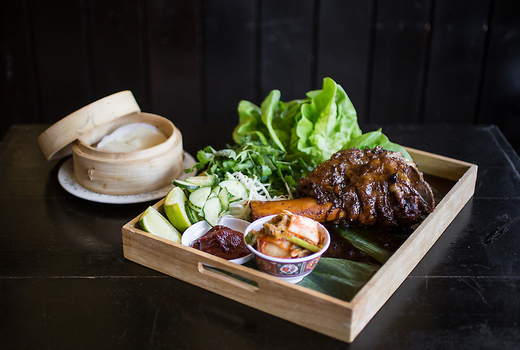 Rice gold steak
