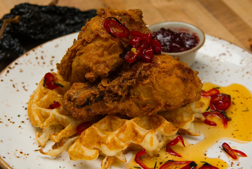 Bedford co chicken waffles main