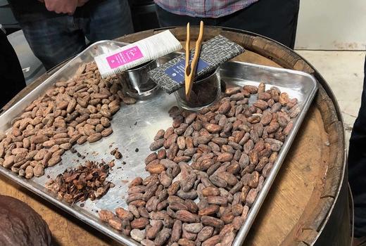 Raaka chocolate beans