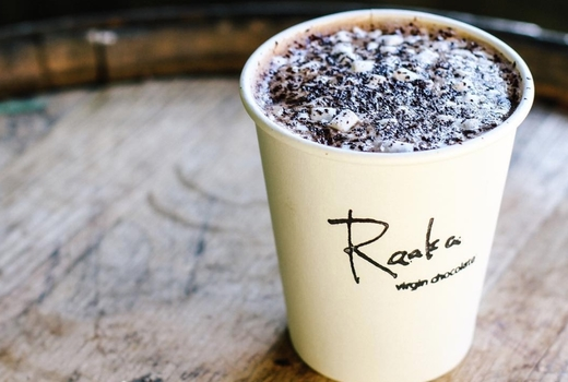 Raaka chocolate hot chocolate nyc