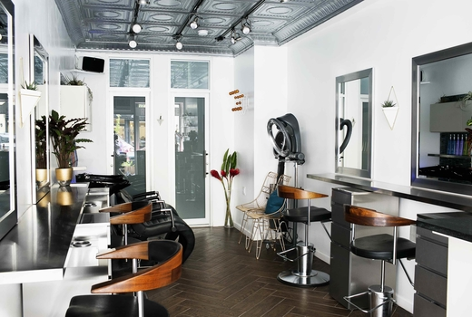 Rogue house inside salon bright beauty