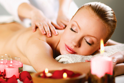 Redandwhite massage