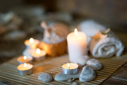 La peau candles relax