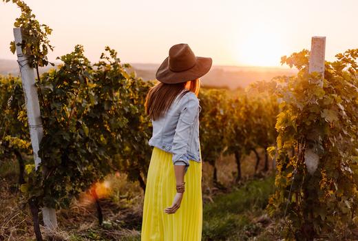 Vineyard lady 2