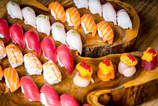 Sensakana sushi