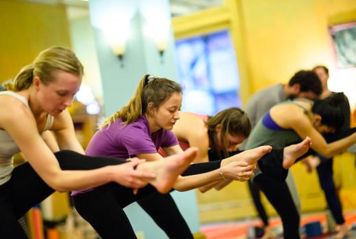 Dharma yoga legs