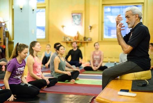 Dharma yoga teacher
