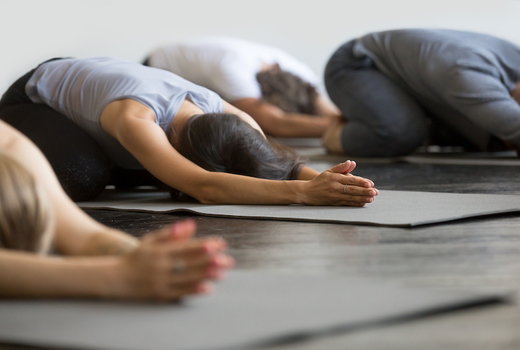 Dharma yoga floor work