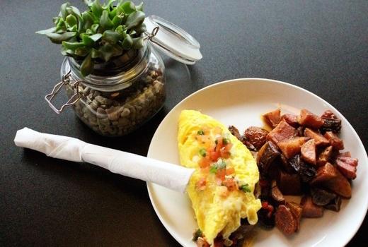 Manhattan proper omelette