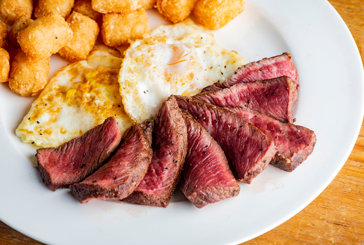 John doe steak eggs