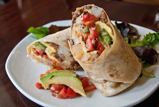 Johndoe brunch burrito