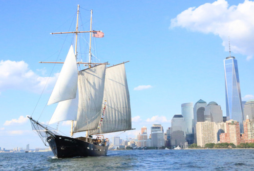 Manhattan by sail clipper city wtc
