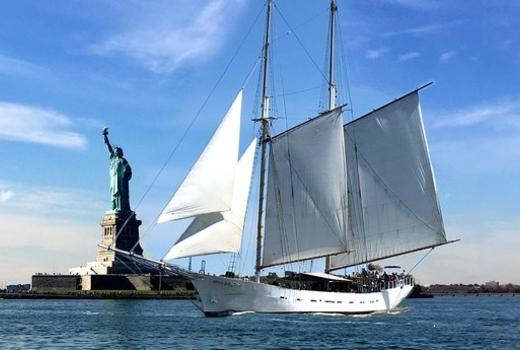 Manhattan by sail lobster sail liberty clipper city
