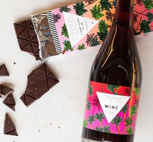Winc red wine chocolate