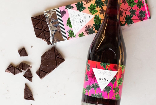 Winc red wine chocolate