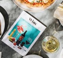 Winc food spread white book
