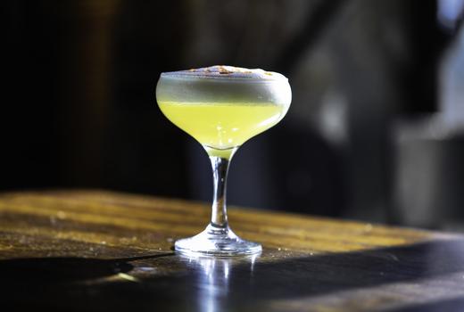 Boticarious cocktail glass