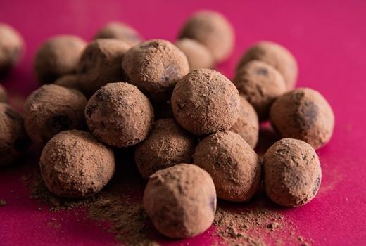 Li lac chocolate truffles wow