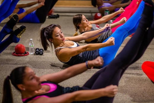 Purre barre abs crunches fit