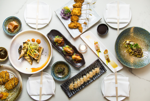The bari main spread food