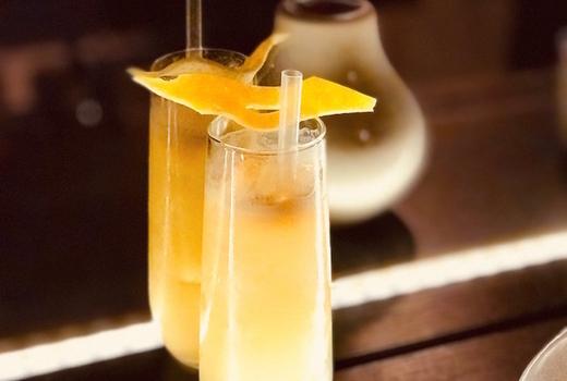 The bari mimosa cocktail