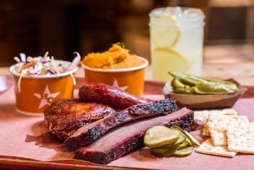 Hill country bbq dinner