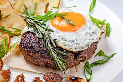 Zavo brunch steak egg