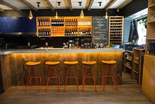 Lamano west village inside bar