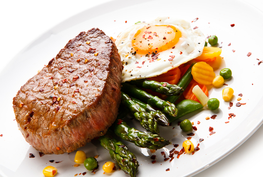 Cesca steak eggs