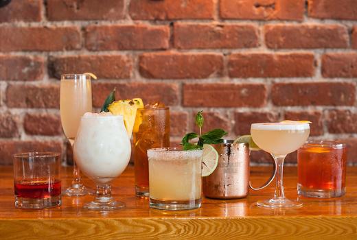 Monk mcginns cocktails