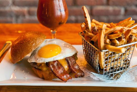 Monk mcginns burger
