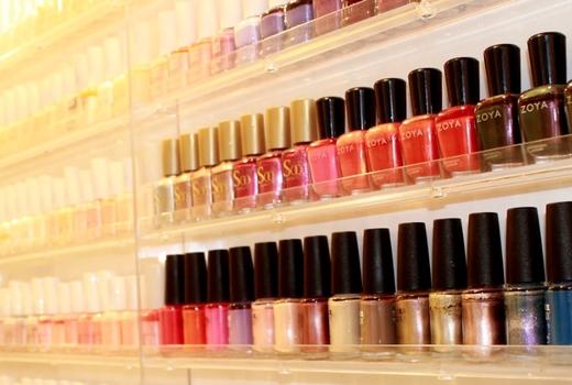Ladies gents nail polish