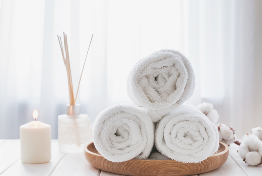 Blondis towels relax